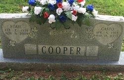 Roxie <I>Delk</I> Cooper