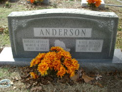 Kate Omelia <I>Melvin</I> Anderson