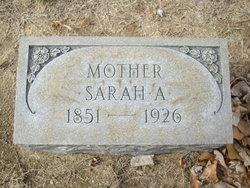 Sarah Jane <I>Williams</I> Anderson
