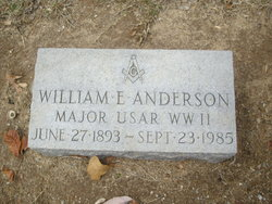 William Ernest Anderson