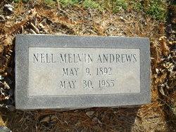 Nell <I>Melvin</I> Andrews