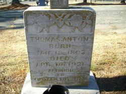 """Thomas William """"Tom"""" <I>Hadjiagapiou</I> Anton"""