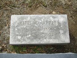 Otis Draughn Apple, Sr