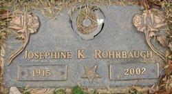 Josephine K <I>Kingsland</I> Rohrbaugh