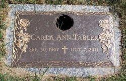 Carla Ann <I>Herring</I> Tabler