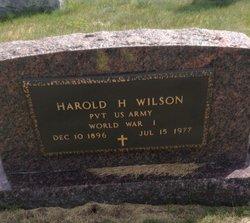 Harold H Wilson