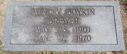 Mincey <I>Joyner</I> Brewer