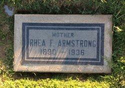 Florence Rhea <I>McKenna</I> Armstrong
