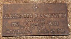 Alexander E. Anderson