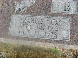 Frances <I>Cox</I> Beal