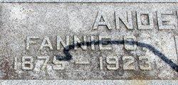 Fannie Olivia <I>Hubbell</I> Anderson