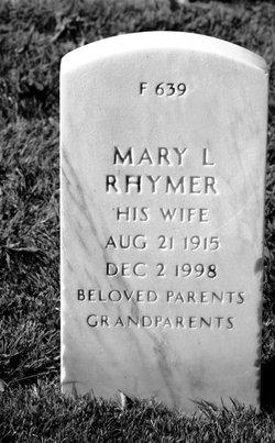 Mary Laverne <I>Cleveland</I> Rhymer