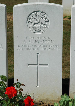Private Alfred Andrew Johnson