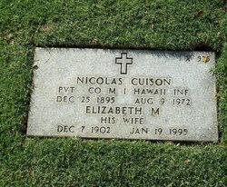 Elizabeth M Cuison