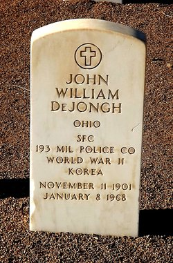 John William Dejongh