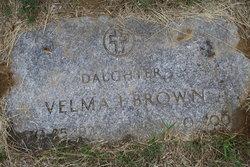 Velma I. <I>Young</I> Brown