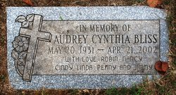 Audrey Cynthia <I>Young</I> Bliss