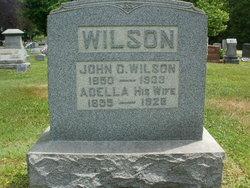 Adella <I>Hall</I> Wilson