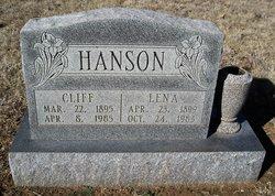 """Mary Elena """"Lena"""" <I>Berry</I> Hanson"""