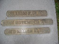 William Fisher Plane Sr.