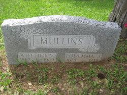 Louemma Jane <I>White</I> Mullins