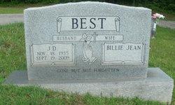 """Jake D. """"J.D."""" Best"""