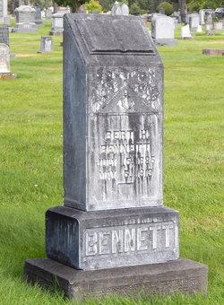 Bert H Bennett