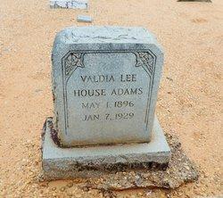Valdia Lee <I>House</I> Adams