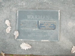 "Mary Elizabeth ""Maura"" <I>Bartley</I> Warman"
