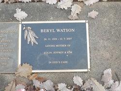 Beryl Watson