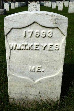 Pvt William T Keyes