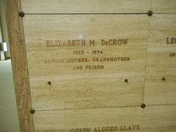 Elizabeth May <I>Bull</I> Decrow