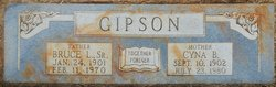 Cyna Clentonia <I>Bloodworth</I> Gipson