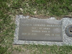 SGT Glover Edward Harrison