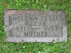 Helena <I>Burggraff</I> Peter Reese