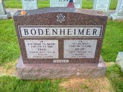 Hilde <I>Freudenthaler</I> Bodenheimer