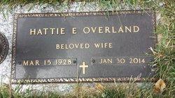 Hattie E. <I>Scheidegger</I> Overland
