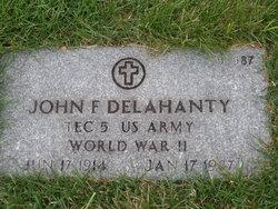 John F Delahanty