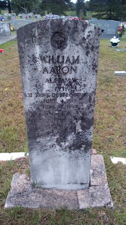 PVT William Aaron