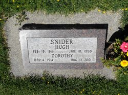 Dorothy A. <I>Riggs</I> Snider