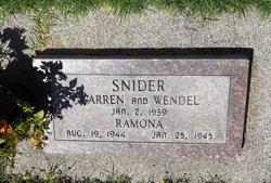Warren Snider