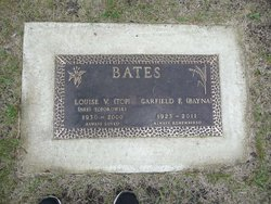 "Louise V ""Top"" <I>Toporowski</I> Bates"