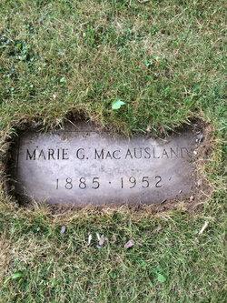 Marie G <I>Pankuch</I> MacAusland