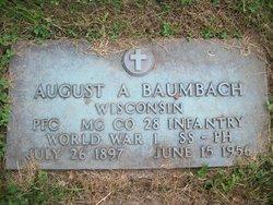 August Albert Baumbach