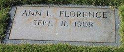 Ann Lee Florence