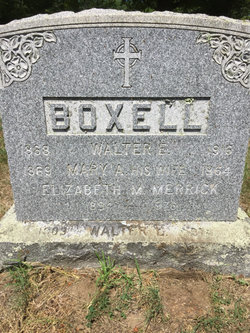 Mary A. <I>Worth</I> Boxell
