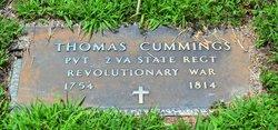 Pvt Thomas Cummings