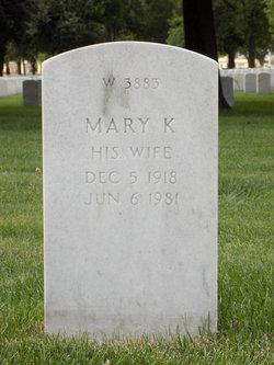 Mary K Gasser