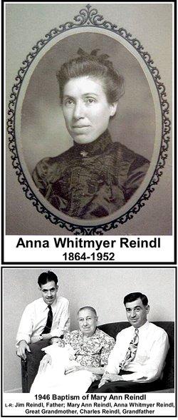 Anna <I>Whitmyer</I> Reindl