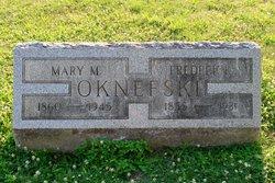 "Mary Matilda ""Molly"" <I>Crist</I> Oknefski"